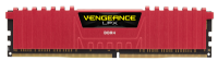Ram Corsair (2 x 8GB) 16G bus 2666 C16 Vengeance LPX RED - CMK16GX4M2A2666C16R