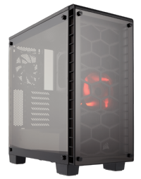 Corsair Crystal Series 460X Compact ATX Mid Tower Case