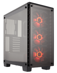 Corsair Crystal Series 460X RGB Compact ATX Mid Tower Case