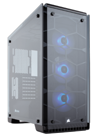 Corsair Crystal Series 570X RGB ATX Mid Tower Case