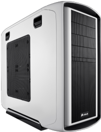 Corsair Graphite Series 600T White Mid Tower Case