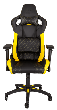 CORSAIR T1 RACE Gaming Chair — Black/Yellow