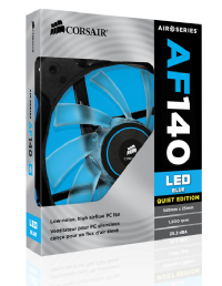 Fan Case Corsair Air Series AF140 LED Blue Quiet