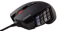 Mouse Gaming Scimitar RGB Black