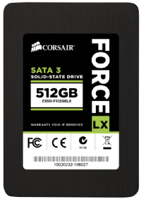 Ổ Cứng SSD CorSair Force Lx Series F512GBLX  512GB