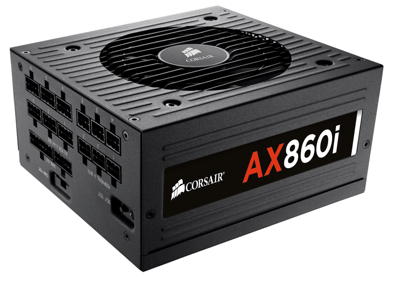 PSU Corsair AX860i 80 Plus Platinum