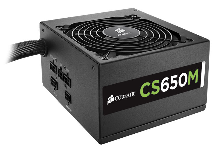 PSU Corsair CS650M 80 Plus Gold